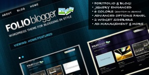 Folio Blogger - Themeforest.net