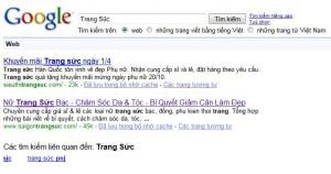 google search thuong hieu