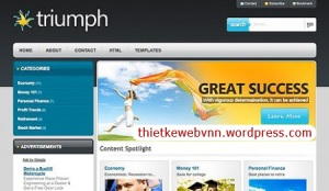 Triumph - WPNow WordPress Template