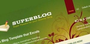 Superblog - Joomla Templates